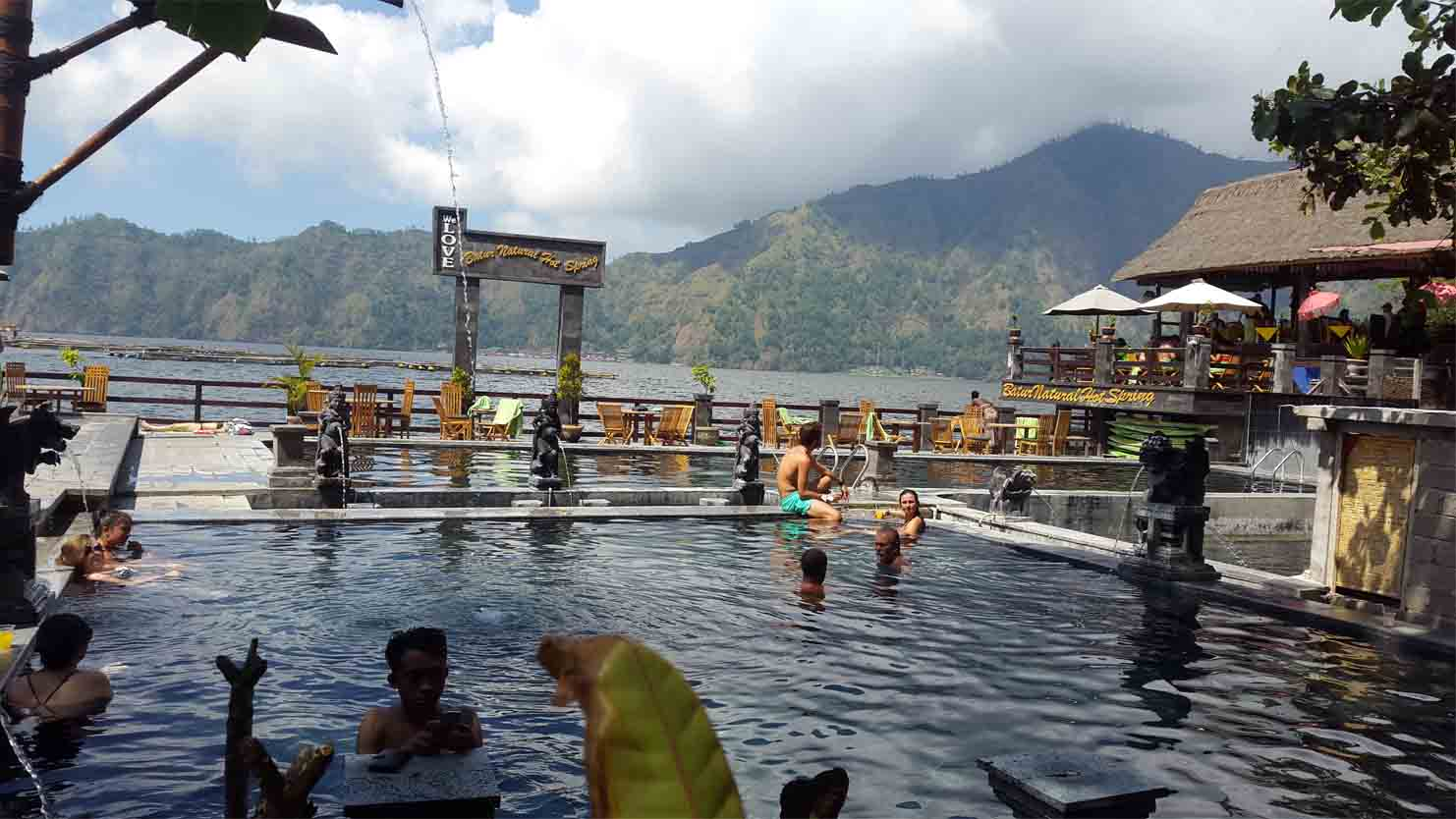 Bali natural hot springs