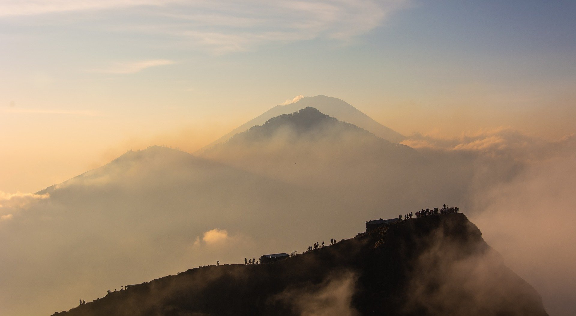 Mt Batur early morning
