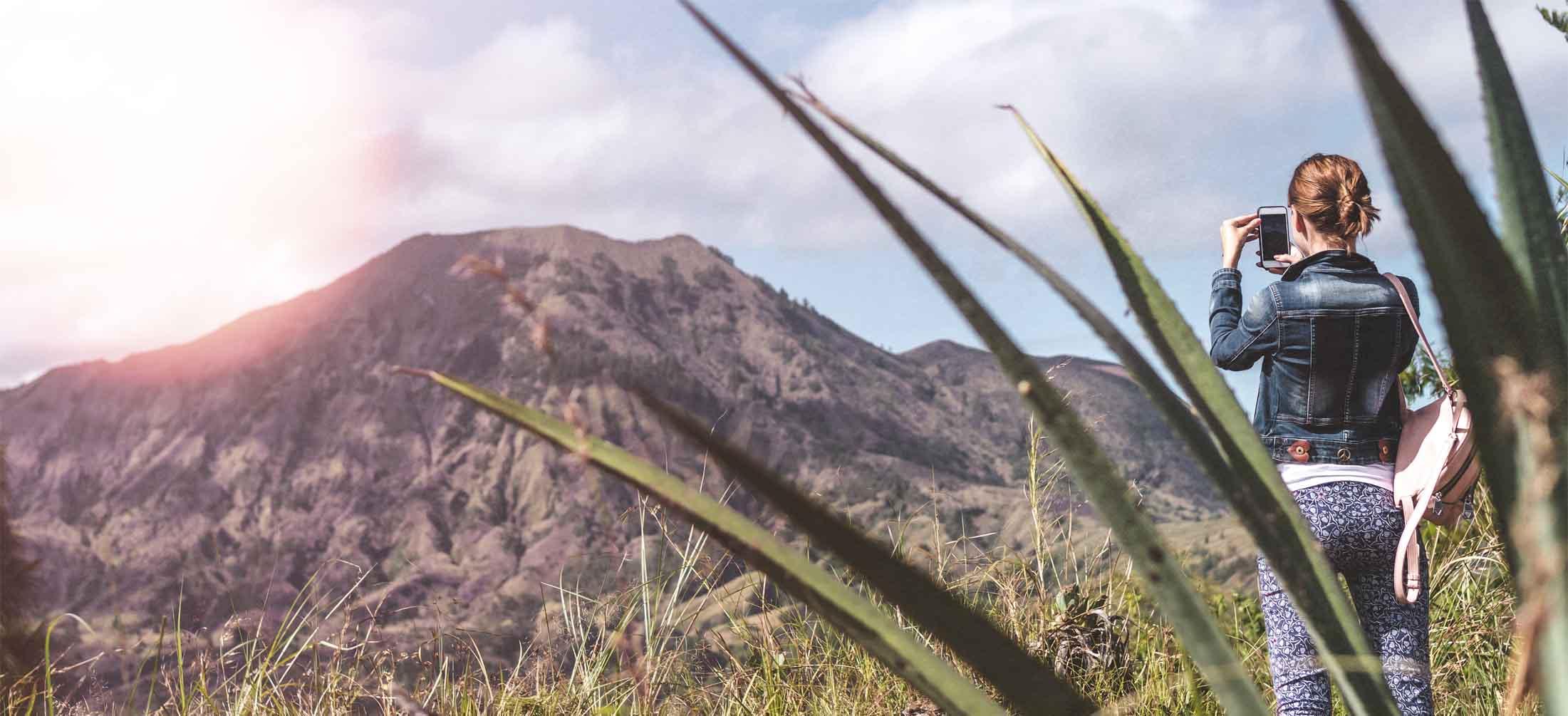 Atop Mt Batur - photo