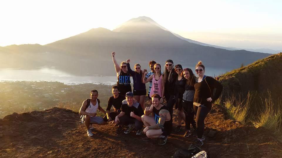 Guided volcano trek