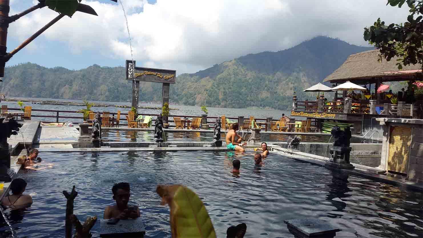 Toya Bungkah village Natural Hot Springs