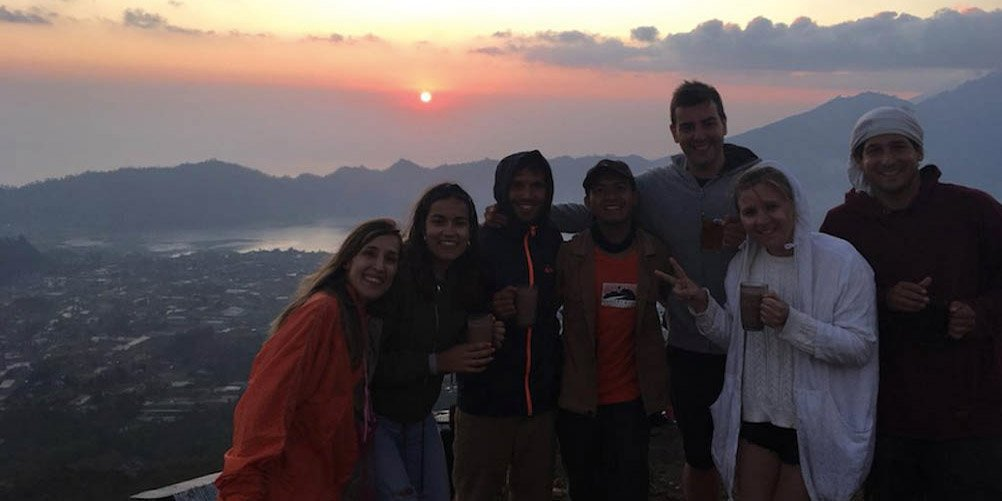 Mt Batur sunset