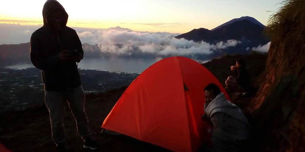 Mt Batur Camping tent