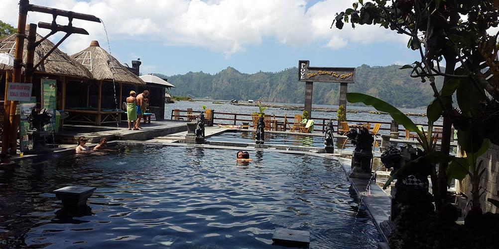 Natural Hot Springs Kintamani