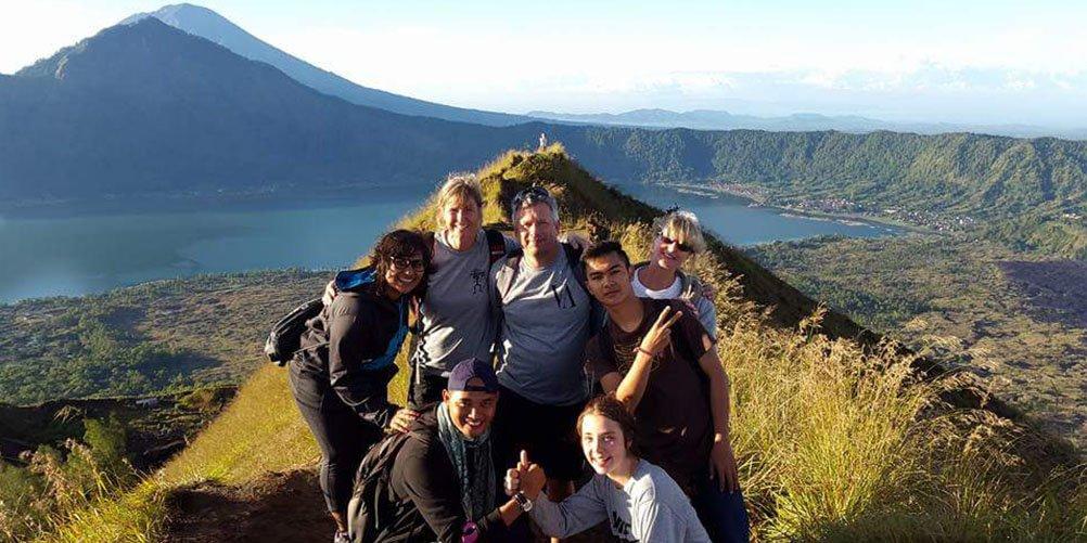 Mt Batur Peak