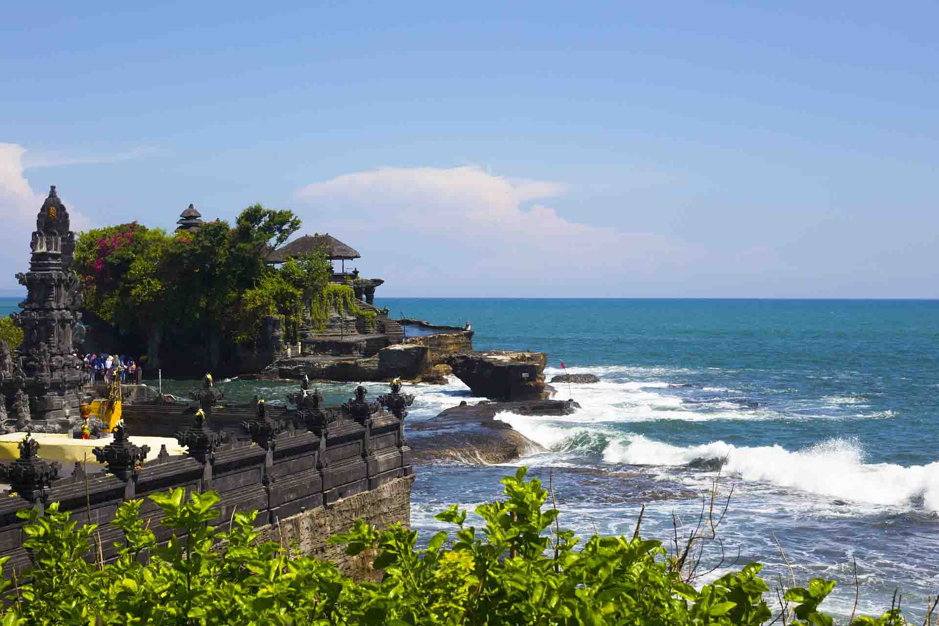 Tanah Lot coast